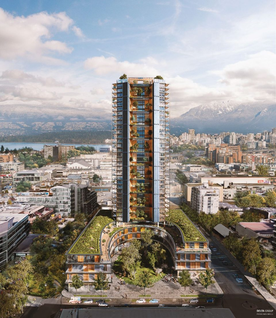 Vancouver World S Tallest Mass Timber Building Proposed For Vancouver Urbanyvr