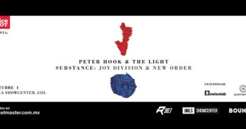 Peter Hook & The Light Guadalajara 2016