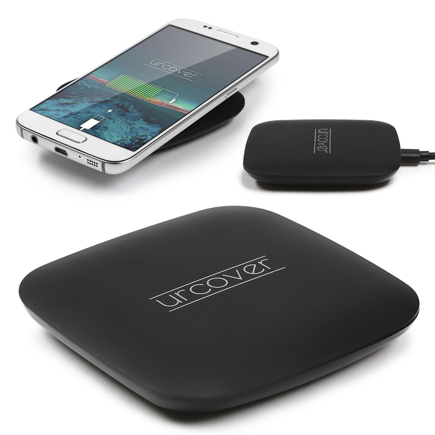 Qi Ladestation Slim Qi Ladegerät Universal Qi Pad Wireless Charging Induktive Charger Laden