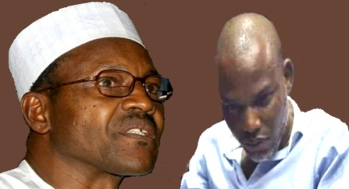 Kanu: Buhari Smuggled Out of London Hotel to Avoid Angry Biafran Protesters