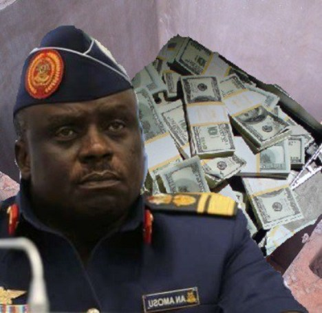 EFCC Recovers $1m in 'Soak-away' At Ex-Air Chief Amosu's House,  Traces N3bn to Wife's Account