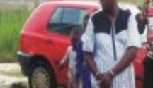 Onose in handcuff