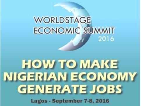 WorldStage Economic Summit 2016 to Address Nigeria's Unemployment Challenges