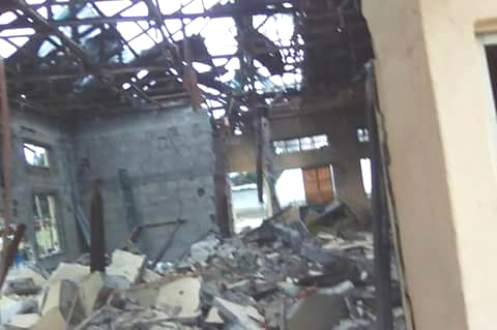 Delta: Explosion Rocks Isoko Development Union Secretariat
