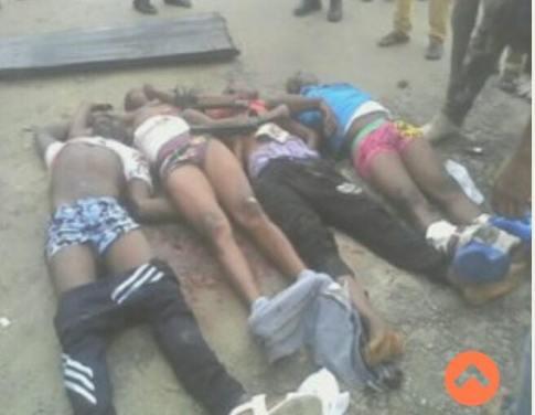 Delta Police Kill Four Armed Robbers in Warri Daylight Gun Battle