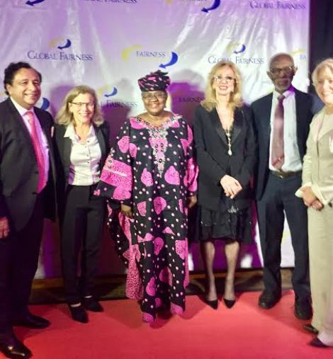 Okonjo-Iweala Honoured with 2016 Global Fairness Award in US