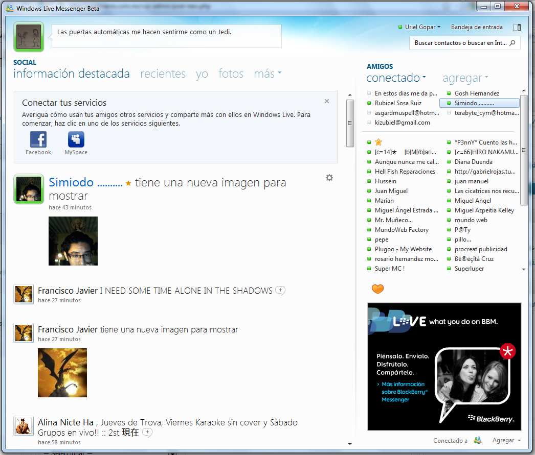 Descargar Messenger Descargar Msn En Espanol Descargar Windows Live Messenger