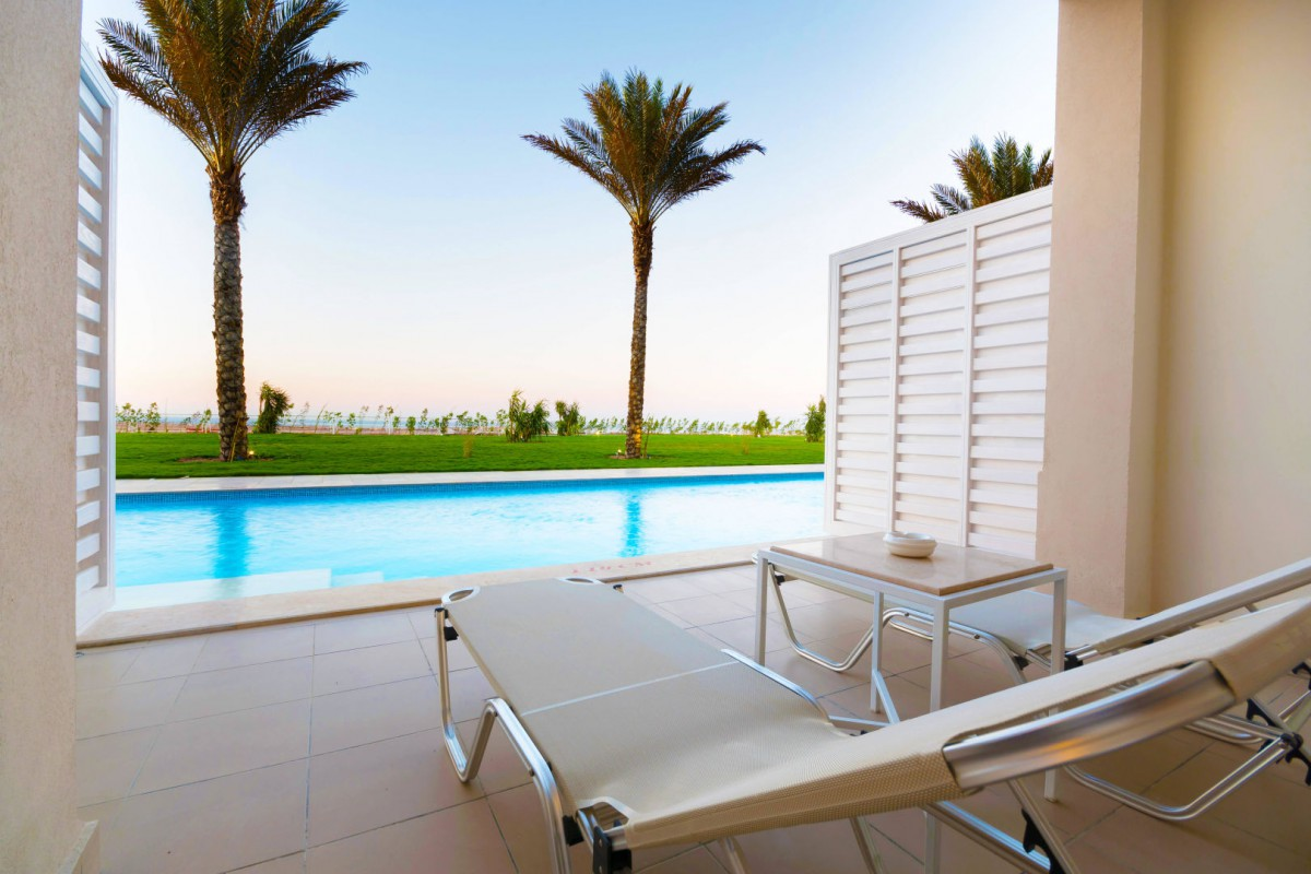 Dachterrasse Mit Pool 5*-all-inclusive-badeurlaub Im Jaz Makadi Aquaviva Resort