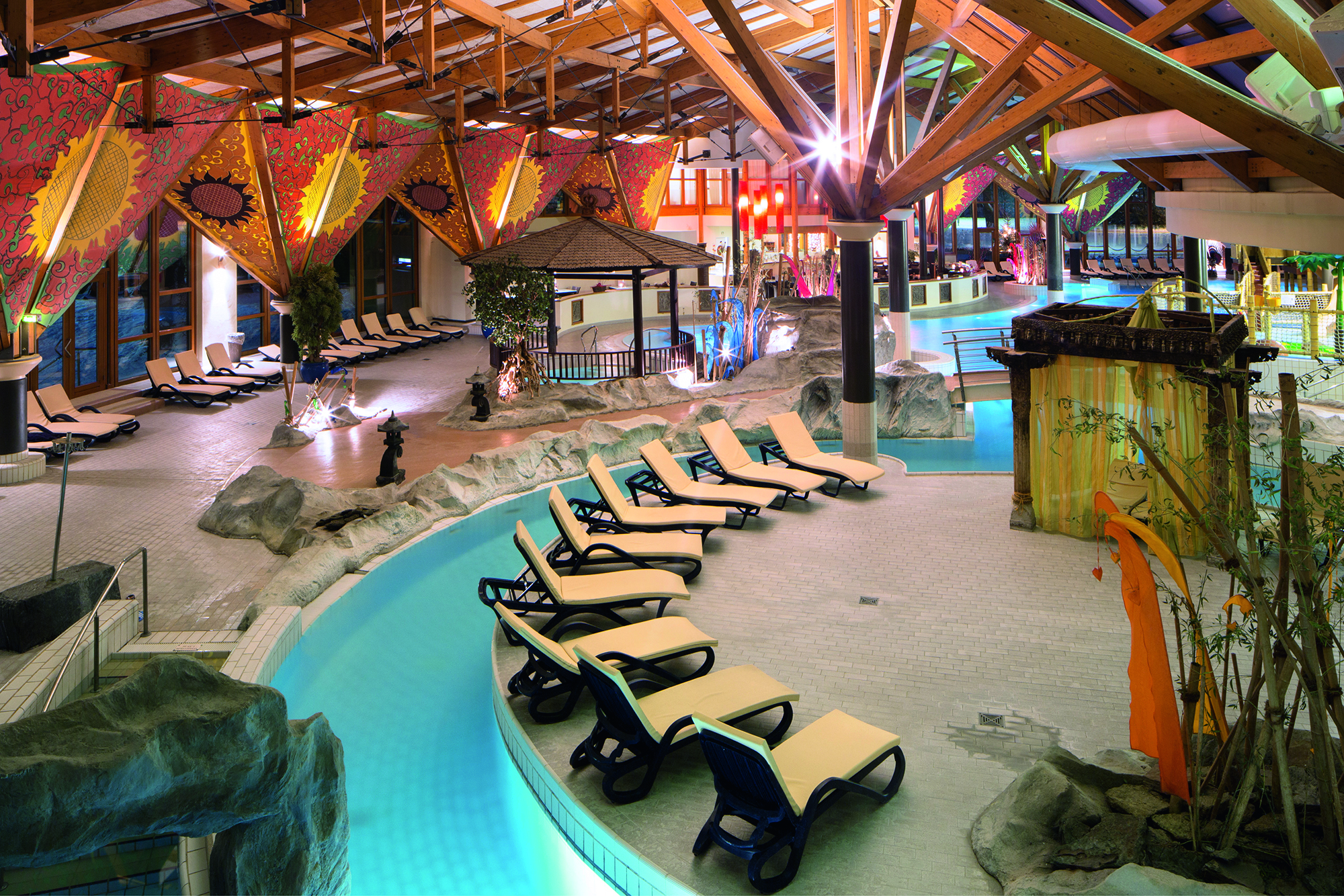 Sauna Bali Therme Wellness Bad Oeynhausen: 4* Hotel + 1 Tag Bali Therme - 49