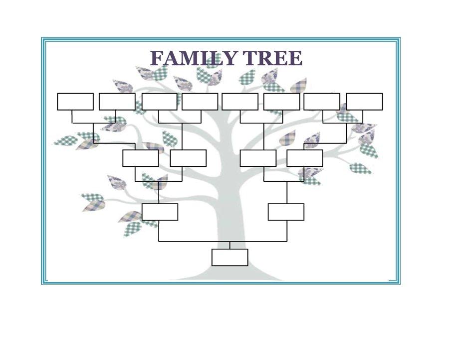 Printable Family Trees room surf