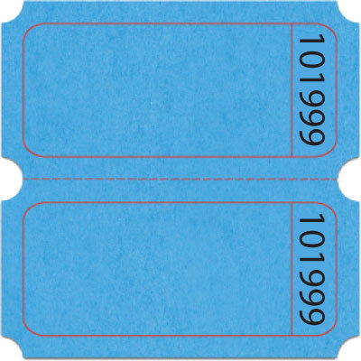 Bristol Blank Double Roll Tickets US-TICKETCOM