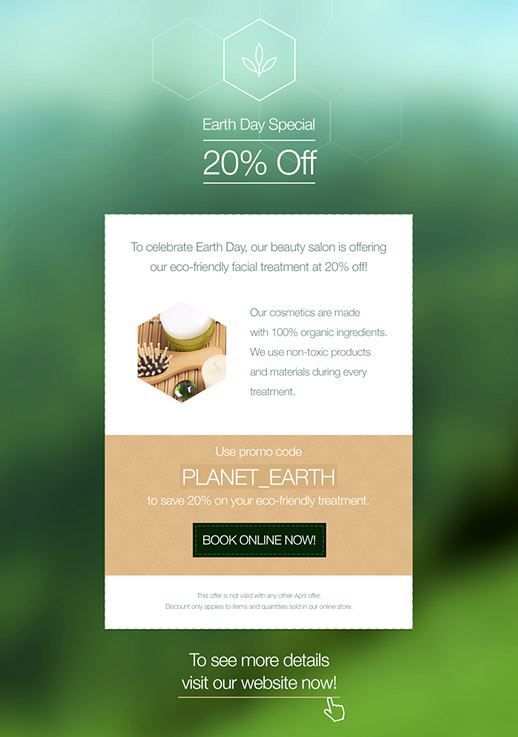 Health and Beauty Newsletter Templates - email marketing - GetResponse
