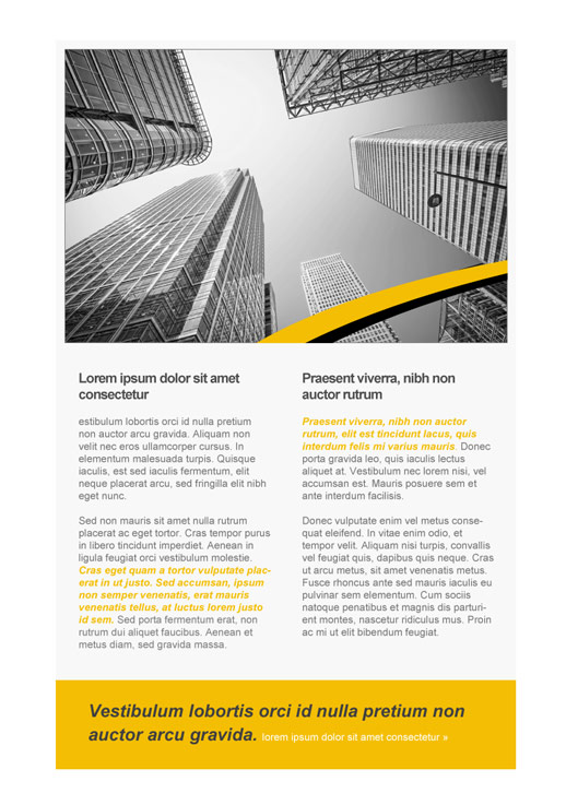 Technology Newsletter Templates - email marketing - GetResponse