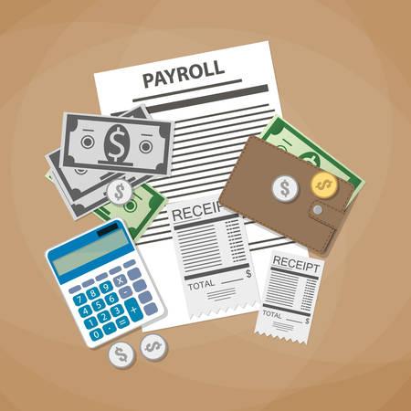 Payroll Invoice Resumecharacterworld  - payroll receipt