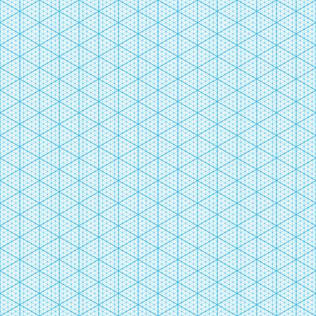 Isometric Graph Paper Seamless Illustration Royalty Free Cliparts - isometric graph paper