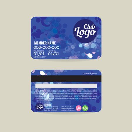 membership cards templates - Roho4senses - membership cards templates