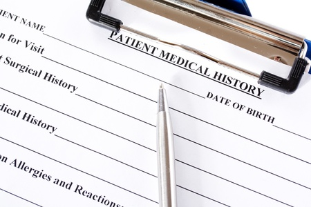 Medical Insurance Claim Form Stock Photo Getty Images Medical Claim - medical claim form