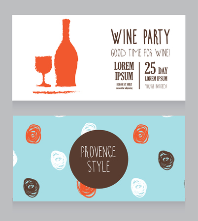 wine card template - Helomdigitalsite