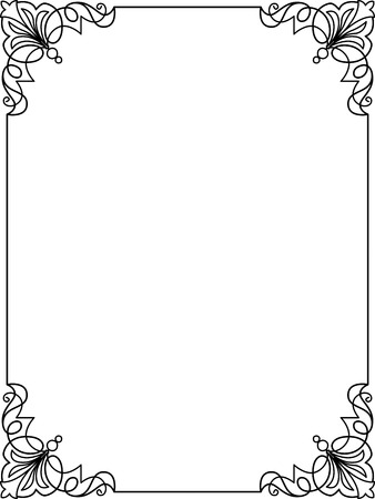 Simple Frame Border Design Simple Borders Frame P - Hcautomations