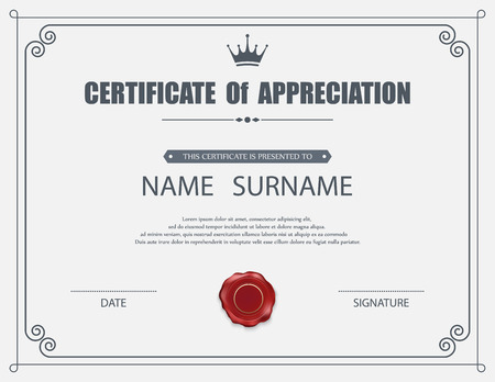 certificate of appreciation words - Holaklonec
