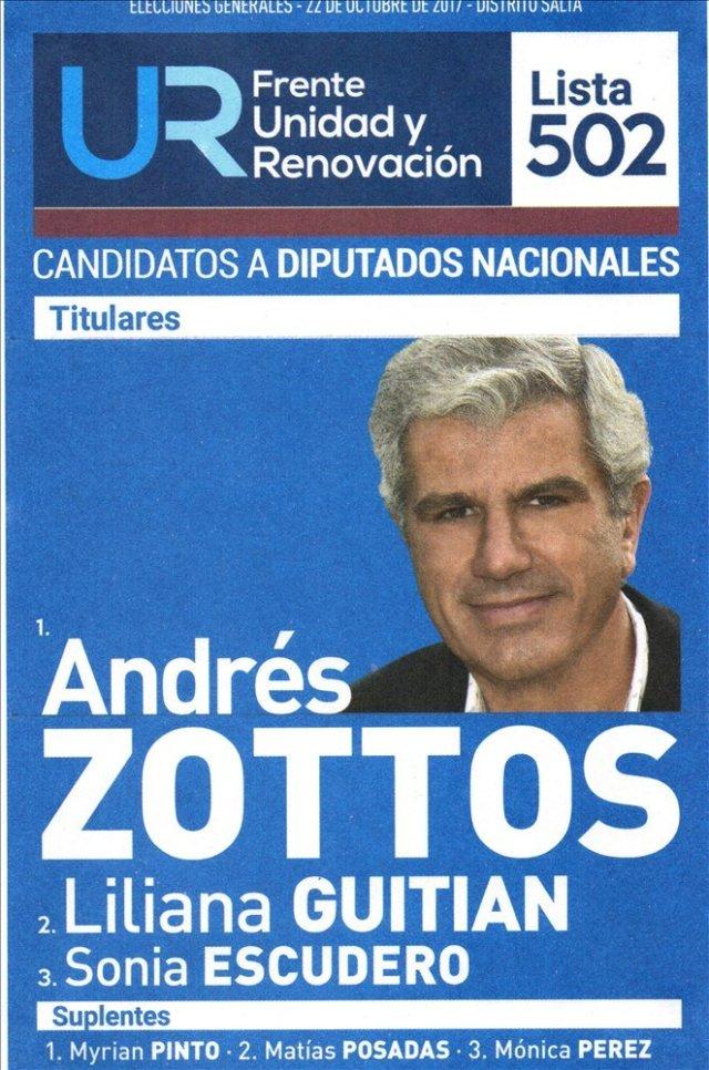 Diputación nacional: habrá 7 boletas en el cuarto oscuro