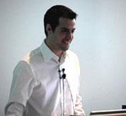 Joe Hewitt introduces Firebug to a developer audience at Yahoo!.