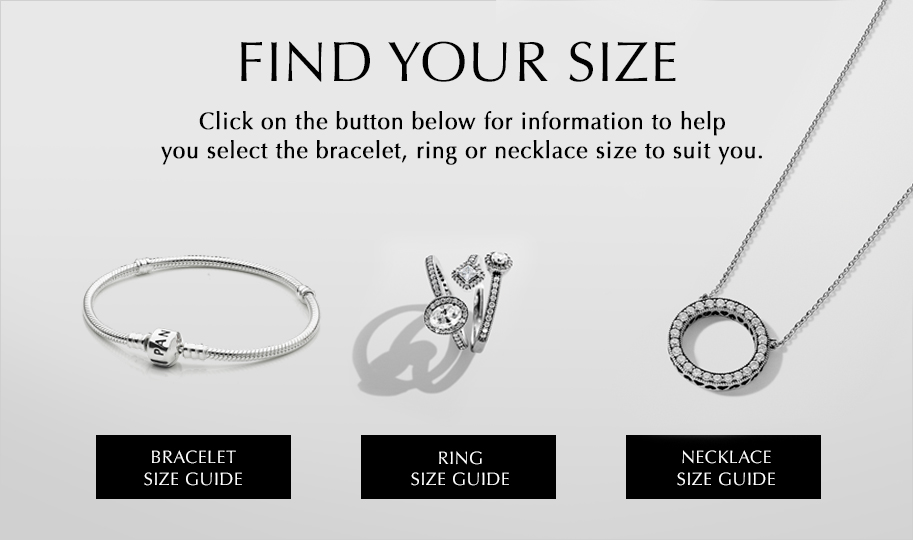 Bracelet, Necklace  Ring Size Guides