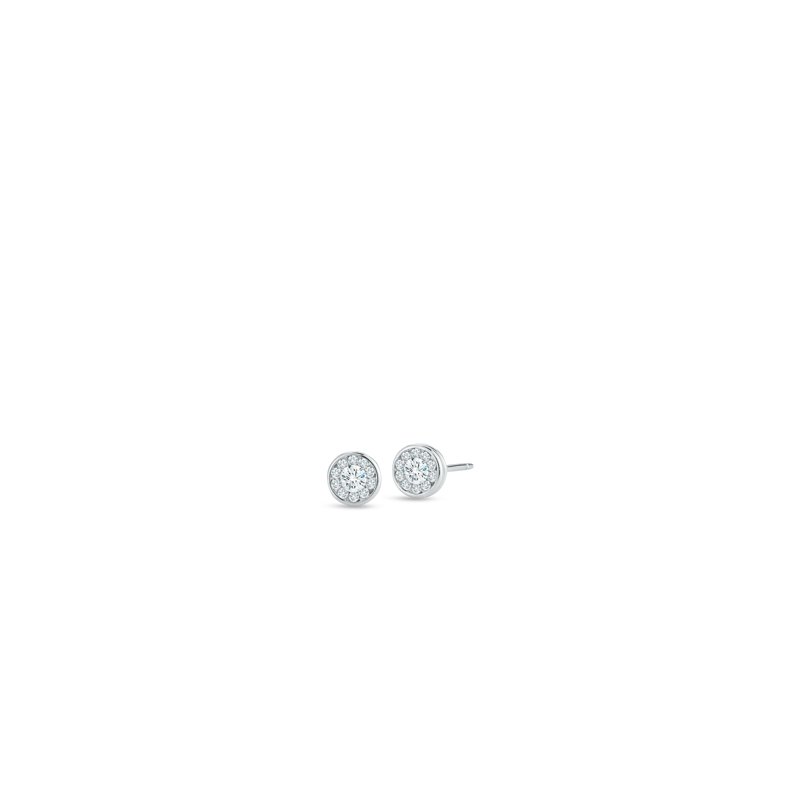 Purchase Classic Diamonds Gold Stud Earrings with Diamonds