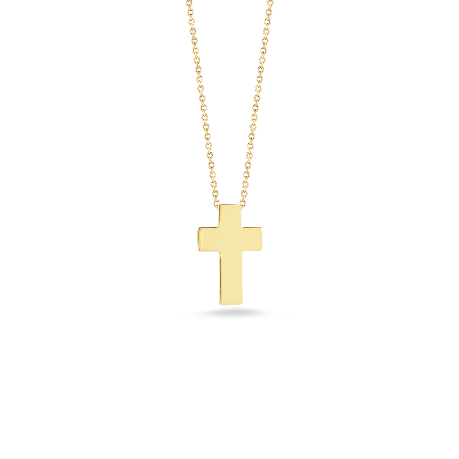 Italian Design Gifts Italian Gold Cross Pendant For Gift By Roberto Coin