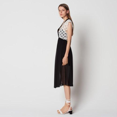 Marvellous Dress Juniors Mid Length Dresses Forever 21 Floral Lace Inset Dresses Color Ecru Cinderella Dresses Sandro Paris Mid Length Dresses