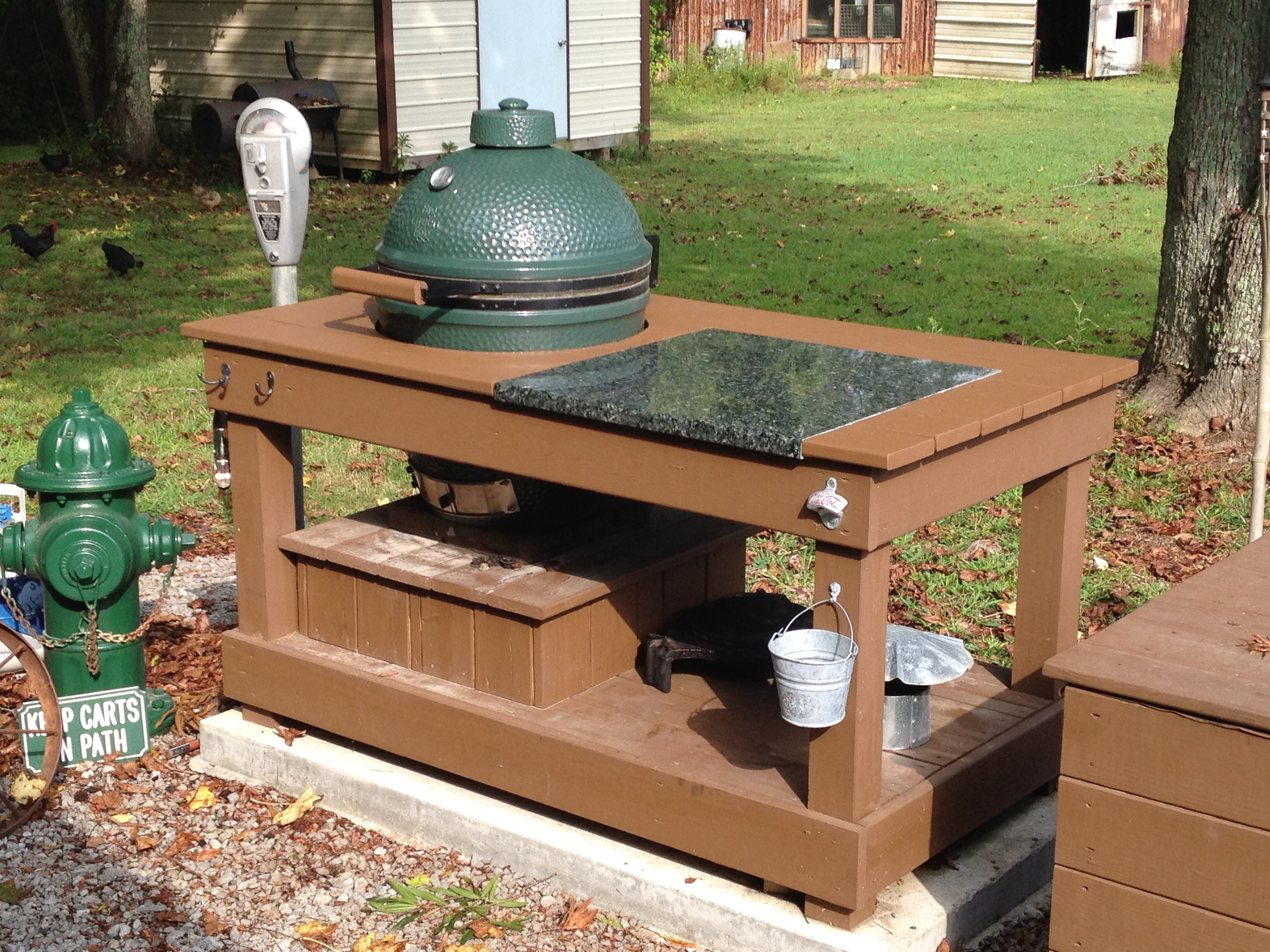Outdoor Küche Green Egg About To Drink The Cool Aid Big Green Egg Egghead