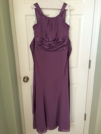 FS: Wisteria colored bridesmaid dress  The Knot