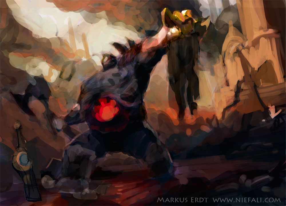 Legends Of The Fall Wallpaper Riot Art Contest Sion Fall Of Demacia Polycount