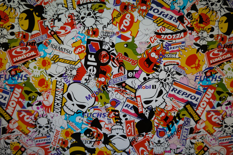 Sticker Bomb Car Wallpaper Sticker Bomb K2forums Com