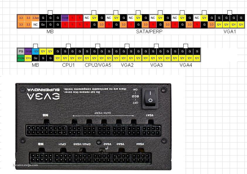 cpu plug wiring diagram