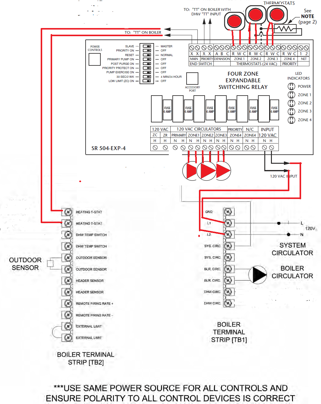 Taco Power Head Wiring | Wiring LibraryWiring Library