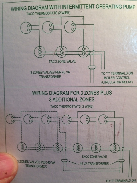 Run a C-Wire to #2 on a Taco Valve? Other location? \u2014 Heating Help