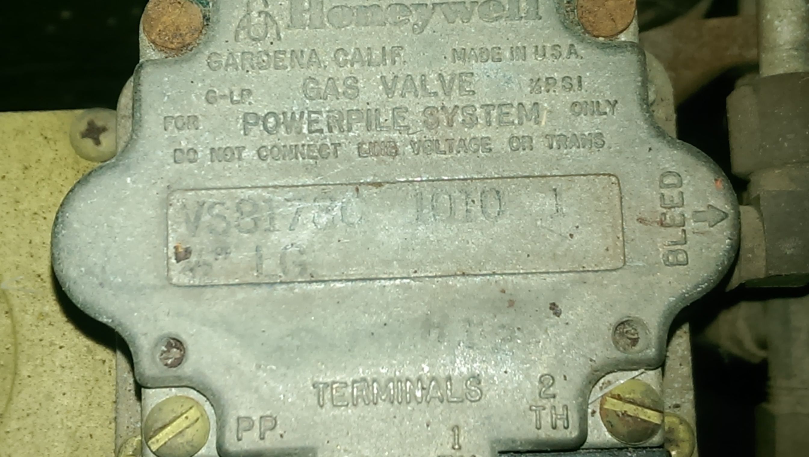 vs820c gas valve wiring diagram