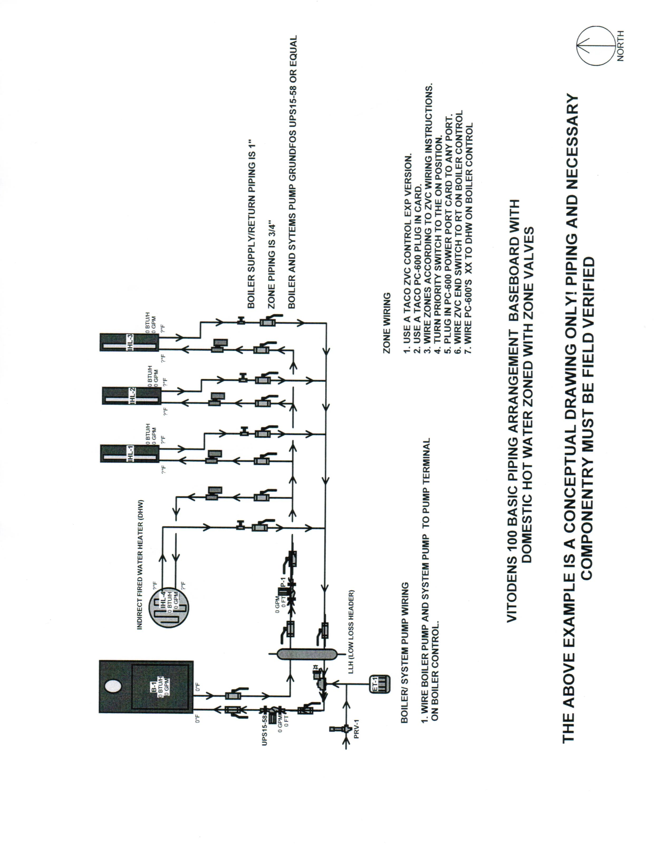 water heat zone valve on thermostat for baseboard heat wiring diagram
