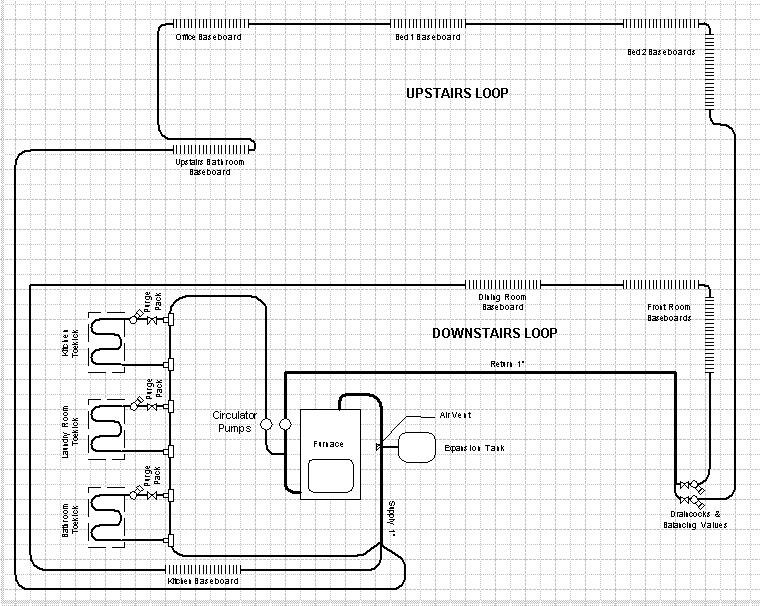 Toekick Heater Install Question Heating Help The Wall
