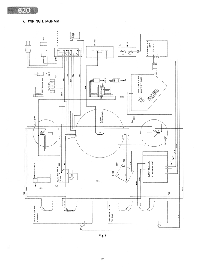 polk audio amp wiring