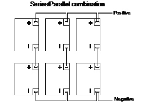 series parallel wiring diagram 12v