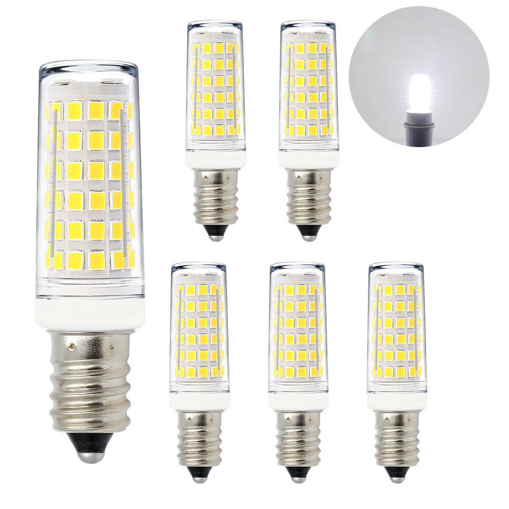 Led E14 11w 1000lm Led E14 Ses Small Capsule Corn Light Bulbs Mini Lamp Bulbs Cool White 6000k Ac220 240v Much Brighter Than 60w Incandescent Halogen Candle