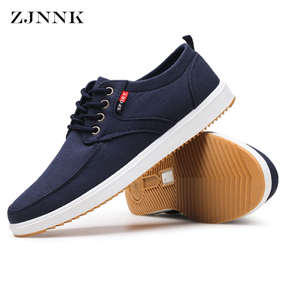 Chaussure Homme Zjnnk Autumn Men S Casual Shoes New Fashion Canvas Sneakers For Men Solid Shoes Mens Krasovki Chaussure Homme Large Size 39 45