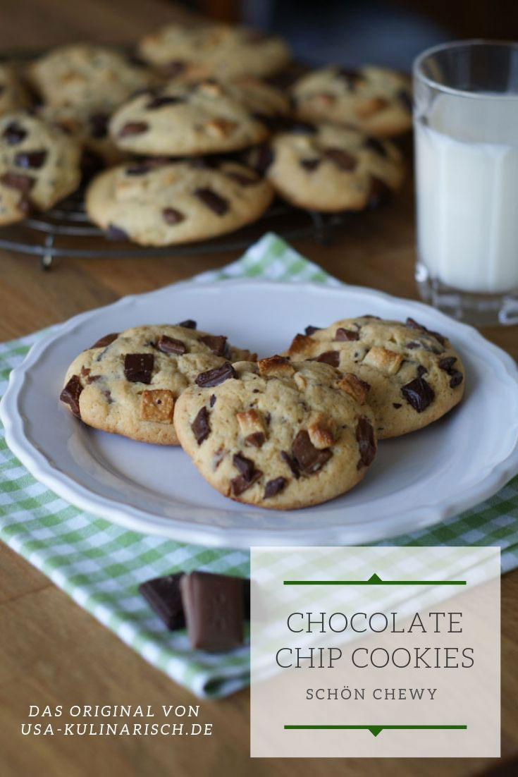 Backen Statt Natron Chocolate Chip Cookies Schokoladenkekse
