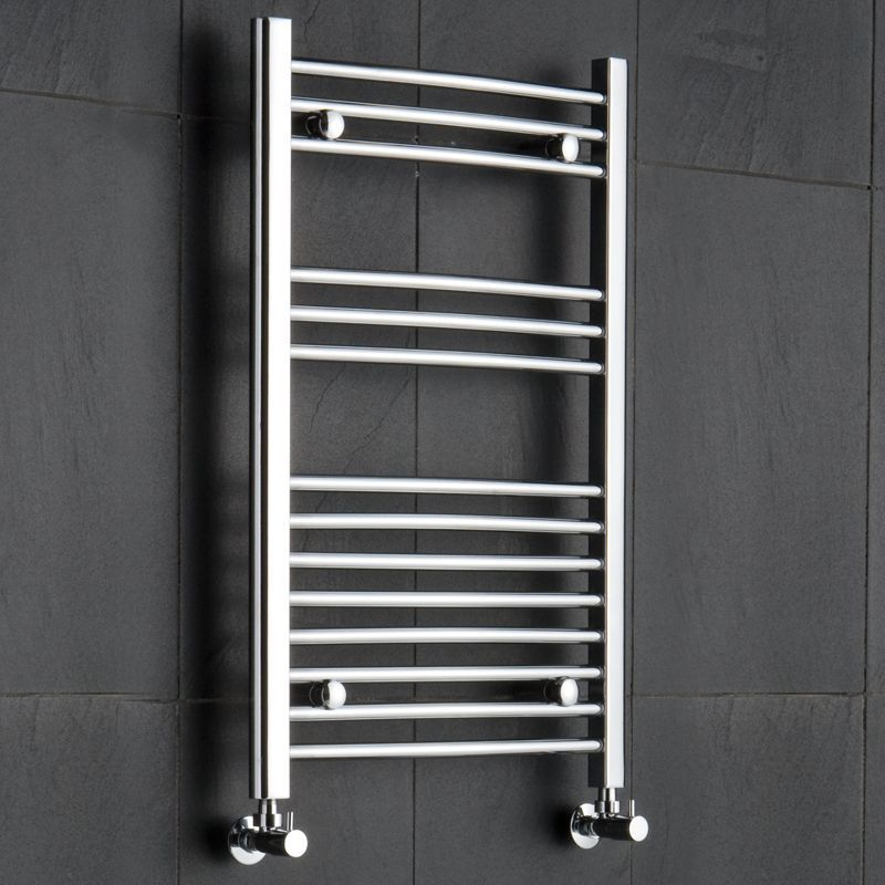 Curved Heated Towel Rack 1975quot X 315quot Chrome Finish