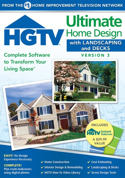 HGTV Ultimate Home Design with Landscaping and Decks ...