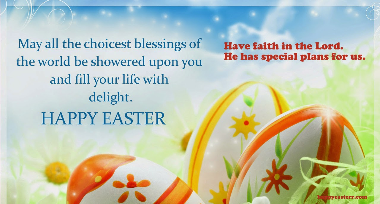 Fullsize Of Easter Card Messages