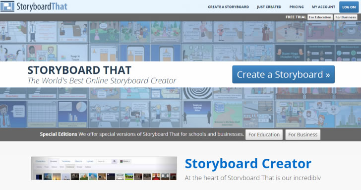30 Useful User Experience (UX) Tools - Usability Geek - website storyboard