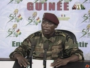 """Guinea's dictator Camara apologizes: claims """"atrocities"""" by """"uncontrollable elements in the military…."""""""